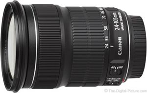 OBIETTIVO STANDARD ZOOM CANON EF 24-105 MM F/3,5-5,6 IS STM