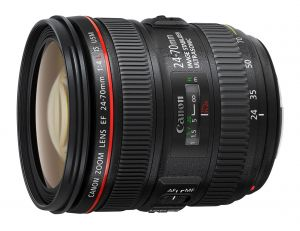 OBIETTIVO STANDARD ZOOM CANON EF 24-70MM F/4L IS USM