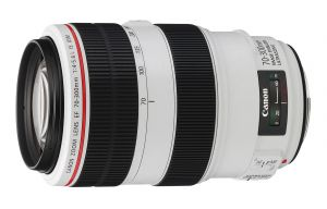 OBIETTIVO TELE ZOOM CANON EF 70-300MM F/4.0-5.6L IS USM