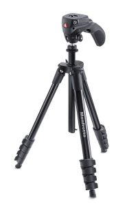 MANFROTTO MKCOMPACTACN-BK TREPPIEDI COMPACT ACTION CON TESTA JOYSTICK BLACK