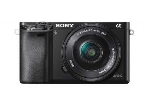 FOTOCAMERA DIGITALE MIRRORLESS SONY ILCE6000YB + SELP1650  e SEL55210 BLACK