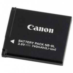 BATTERY PACK BATTERIA RICARICABILE CANON NB-8L