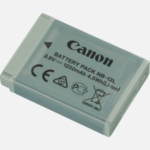 BATTERY PACK BATTERIA RICARICABILE CANON NB-13L