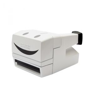 FOTOCAMERA ISTANTANEA POLAROID 600 80S STYLE SMILEY REFURBISHED WHITE