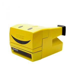 FOTOCAMERA ISTANTANEA 600 80S STYLE SMILEY REFURBISHED YELLOW
