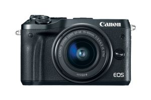 FOTOCAMERA DIGITALE MIRRORLESS CANON EOS M6 BLACK + EF-M 15-45MM IS STM