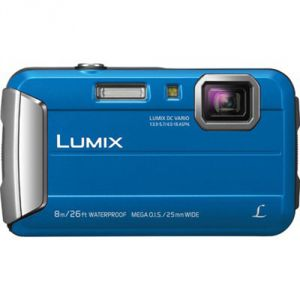 FOTOCAMERA COMPATTA DIGITALE PANASONIC DMC FT30 BLUE