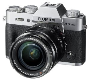 FOTOCAMERA DIGITALE MIRRORLESS FUJI FX X-T20 SILVER + XF 18-55 MM