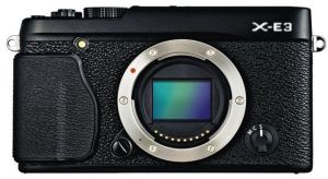FOTOCAMERA DIGITALE MIRRORLESS FUJI X-E3 BODY BLACK