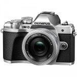 FOTOCAMERA DIGITALE MIRRORLESS OLYMPUS E-M10 MARK III+14-42+40-150 SILVER