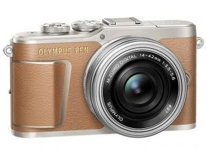 FOTOCAMERA MIRRORLESS DIGITALE OLYMPUS E-PL9 BROWN + 14-42 EZ SILVER