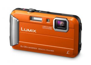 FOTOCAMERA COMPATTA DIGITALE PANASONIC DMC FT30 ORANGE