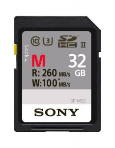 MEMORY CARD SONY SD XC 32 GB UHS-II SF-M32 CL 10