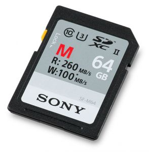 MEMORY CARD SONY SD XC 64 GB UHS-II SF-M64 CL 10
