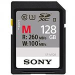 MEMORY CARD SONY SD XC 128 GB UHS-II SF-M128 CL 10