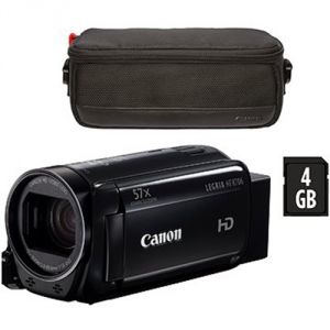VIDEOCAMERA DIGITALE CANON LEGRIA HF R706 BLACK ESSENTIALS KIT