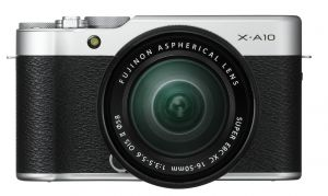FOTOCAMERA DIGITALE MIRRORLESS FUJI X-A10 SILVER + 16-50 MM (SILVER KIT)