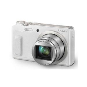 FOTOCAMERA COMPATTA DIGITALE PANASONIC SUPER ZOOM LUMIX DMC-TZ57 WHITE