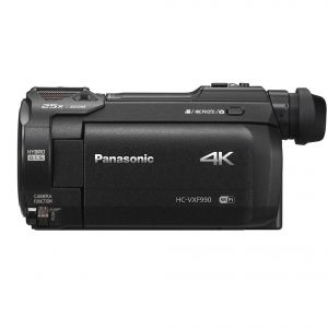 VIDEOCAMERA DIGITALE PANASONIC ULTRA HD 4K HC-VXF990 BLACK