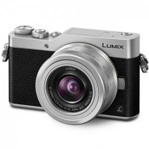 FOTOCAMERA MIRRORLESS DIGITALE PANASONIC LUMIX DC-GX800 + 12-32 MM SILVER