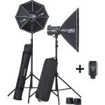 MONOTORCIA ELINCHROM KIT BRX 500/500 SOFTBOX TO GO