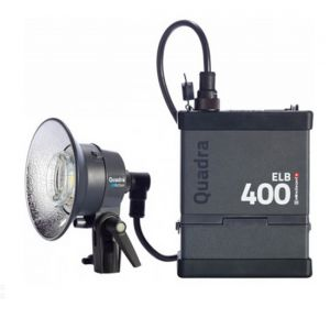 "KIT TORCE ""PRO"" ELINCHROM ELB 400 ONE ACTION H10412.1"