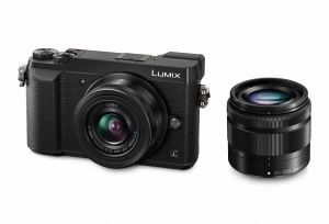 FOTOCAMERA DIGITALE MIRRORLESS PANASONIC LUMIX GX80 + 12-32 + 35-100 BLACK