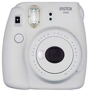 FOTOCAMERA COMPATTA DIGITALE FUJI INSTAX MINI 9 SMOKY WHITE