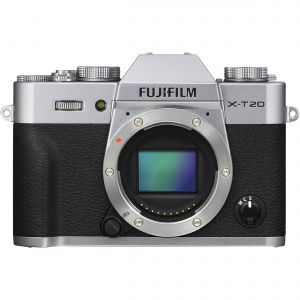FOTOCAMERA MIRRORLESS DIGITALE FUJI FX X-T20 SILVER BODY