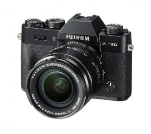 FOTOCAMERA DIGITALE MIRRORLESS FUJI FX X-T20 BLACK + XF 18-55 MM
