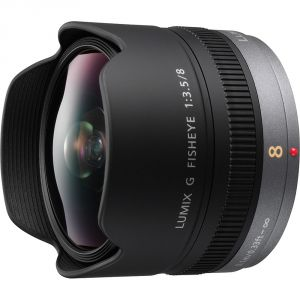 OBIETTIVO PANASONIC LUMIX G  8MM F3,5 (Fisheye) HD