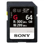 MEMORY CARD SONY SD XC 64 GB UHS-II SF-G64 CL 10