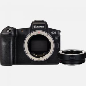 FOTOCAMERA MIRRORLESS DIGITALE CANON EOS R BODY + ADAPTER EF-EOS R