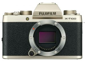 FOTOCAMERA MIRRORLESS DIGITALE FUJI FX X-T100 BODY BLACK